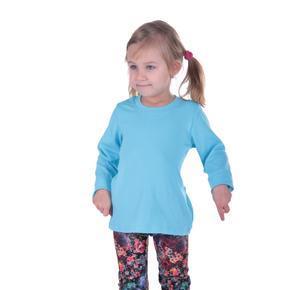 Tričko dlouhý rukáv Marlen světle modré od 122-146