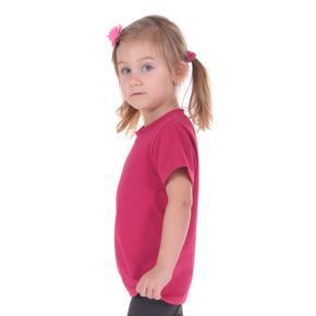 Růžové dětské tričko krátký rukáv Laura od 98-116