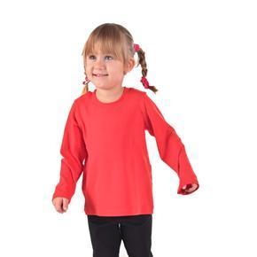 Dětské tričko dlouhý rukáv Marlen červené od 98-116