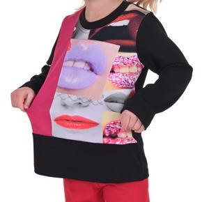 Tričko s potiskem pusinek Kiss od 98-116