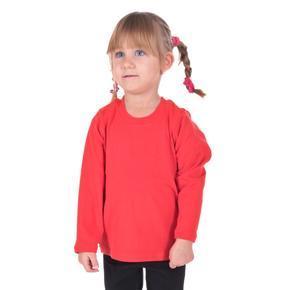 Dětské tričko dlouhý rukáv Marlen červené od 122-146