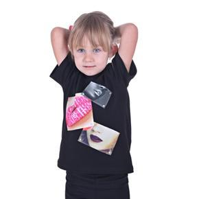Dívčí tričko s moderní nášivkou Rozalie od 122-146