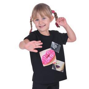 Dívčí tričko s moderní nášivkou Rozalie od 98-116