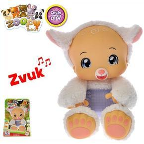 Zoopy babies plyšová Ovečka 24cm