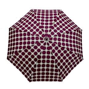 Skládací mini deštník Puntík fialový