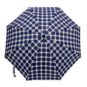 Skládací mini deštník Puntík světle modrý
