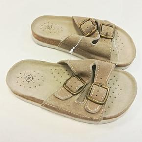 Dětské korkové pantofle Blanka hnědé - 31