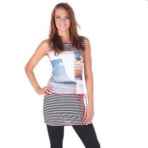 Dámské letní pruhované šaty Taille