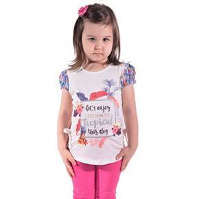 Dívčí moderní letní tričko Mali