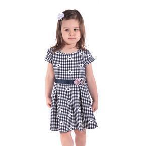 Dívčí květované letní šaty Leslie