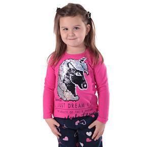 Růžové měnící tričko Endy