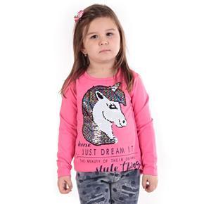Světle růžové měnící tričko Endy