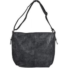 Moderní černá dámská kabelka Ben 7D