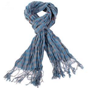 Kostkovaný šátek Lott modrý D7
