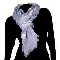 Moderní šátek Lilia modrý C3