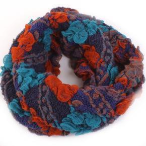Dámský zimní šátek Melissa oranžový D1
