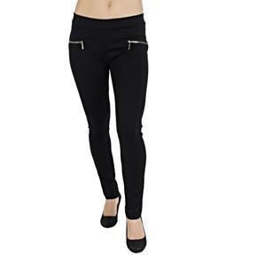 Černé kalhoty Liana