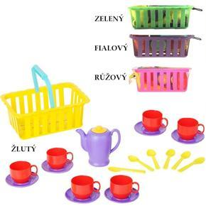 Dětský čajový set v košíku Sia