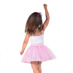 Dívčí tylová tutu sukně Lott růžová