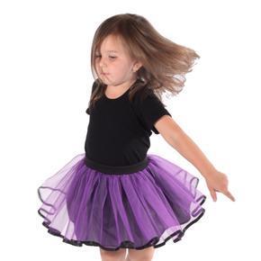 Dívčí tylová tutu sukně Nesy fialová