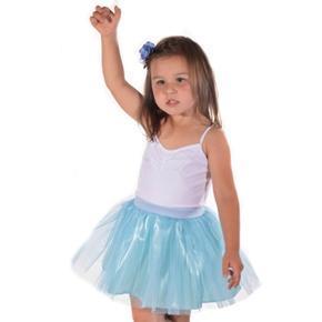 Dívčí tylová tutu sukně Lott modrá