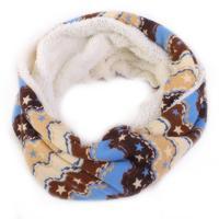 Vzorovaný šátek Holly hnědý F8