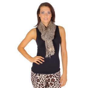 Luxusní šátek Rachel krémový D3