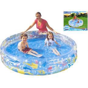 3komorový nafukovací bazén 183x33cm Brendn