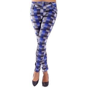 Modré kalhotové legíny Zoey