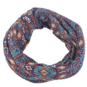 Indický šátek Terry tunel modrý