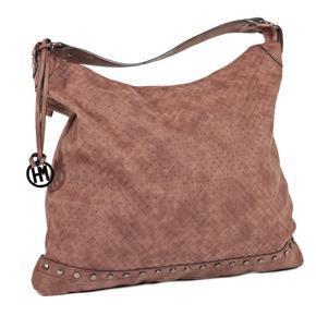 Atraktivní kabelka Anna hnědá 5C