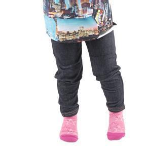 Kalhotové dívčí legíny Ketty černé