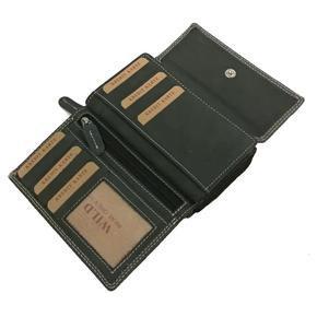 Dámská luxusní kožená peněženka Sabine