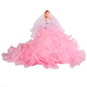 Dekorativní panenka Tifany růžová