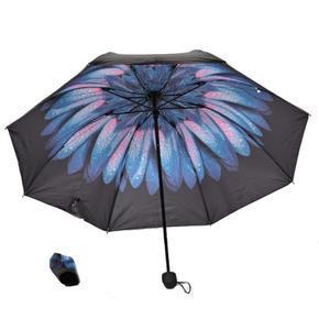 Dámský skládací deštník Scarlet modrorůžový