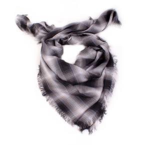 Kostkovaný šátek Megan černý C4