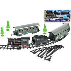Vlak s vagóny a dráhou Jerry