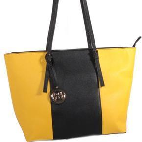 Stylová dámská žlutá kabelka Sun