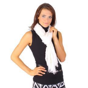Bilý slabý šátek Ema B1