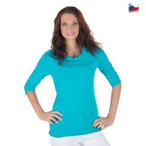 Stylové tričko Swiss modré
