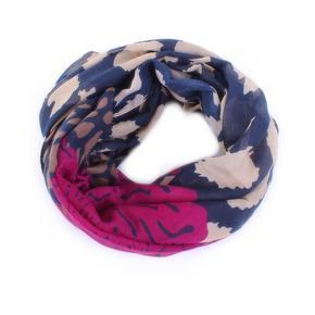 Elegantní šátek Hannah fialový B5