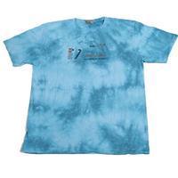 Melírované pánské tričko XXL Sam tyrkysové