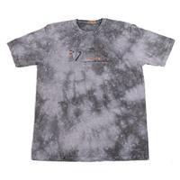 Melírované pánské tričko XXL Sam černé