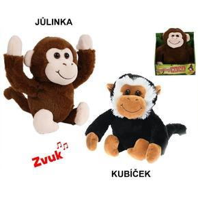 Veselá opička se zvukem 25 cm
