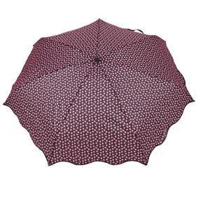 Skládací růžový mini deštník Love