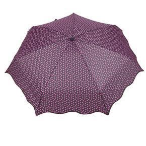Skládací fialový mini deštník Love