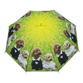 Dětský vystřelovací deštník Oliver zelený