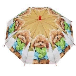 Dětský vystřelovací deštník Oliver červený