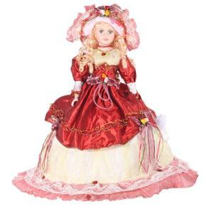 DOLL porcelánová panenka Annie 64 cm