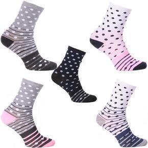 Vysoké dámské ponožky S3 5párů